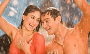 Kareena Kapoor Khan and Aamir Khan in 3 Idiot