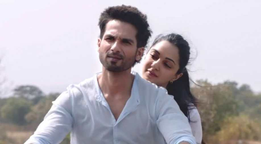 Kiara Advani and Shahid Kapoor in Kabir Singh