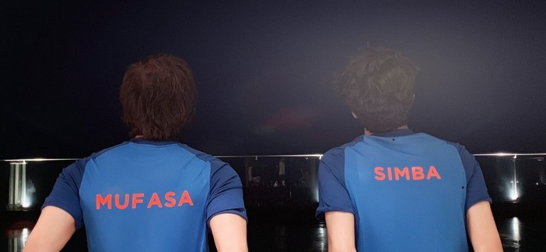 Shah Rukh Khan And Son Aryan Lend Their Voice For The Lion King (Hindi)