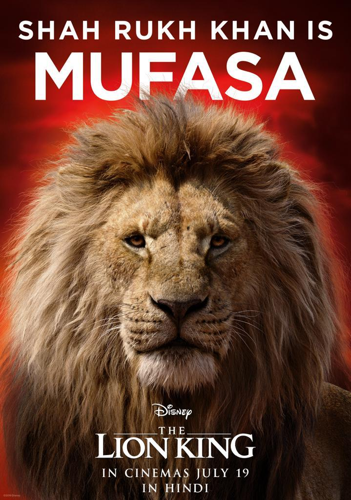 Shah Rukh Khan to voice for Mufasa in The Lion King