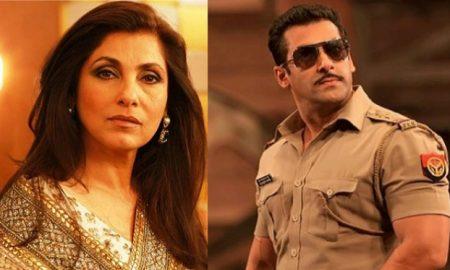Dimple Kapadia Will Not Be A Part Of Salman Khan's Dabangg 3