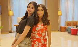 Ananya Panday and Bhumi Pednekar
