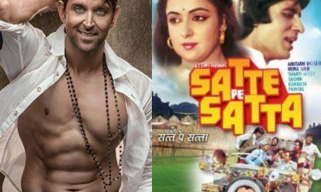 Hrithik Roshan In Satte Pe Satta Remake?