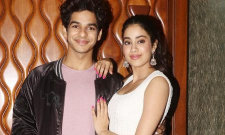 Ishaan Khatter and Janhvi Kapoor