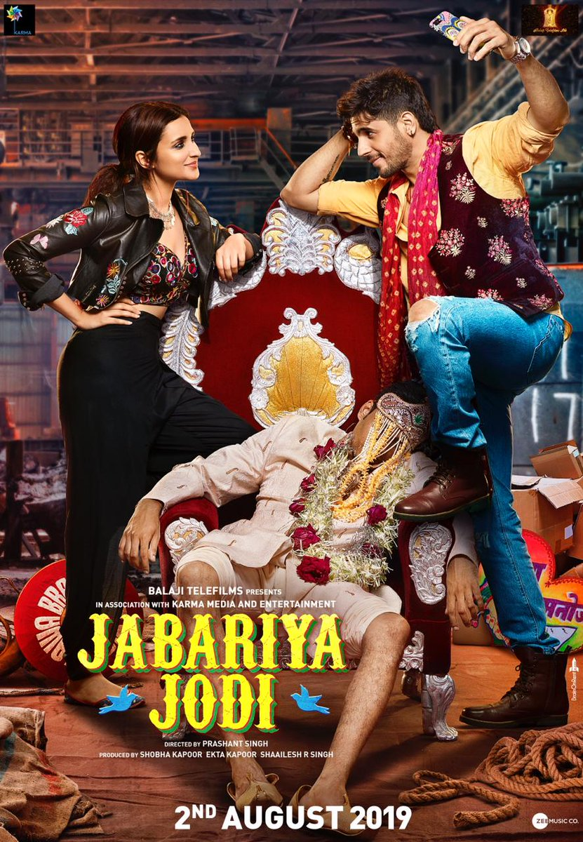 Parineeti Chopra and Sidharth Malhotra in Jabariya Jodi