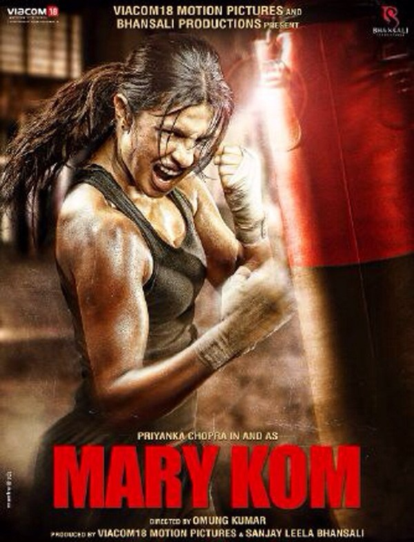 Priyanka Chopra in and as Mary Kom