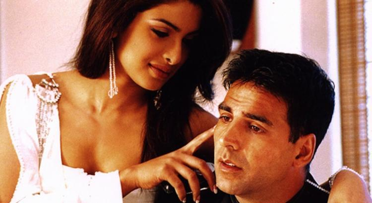 Priyanka as a seductress in Aitraaz