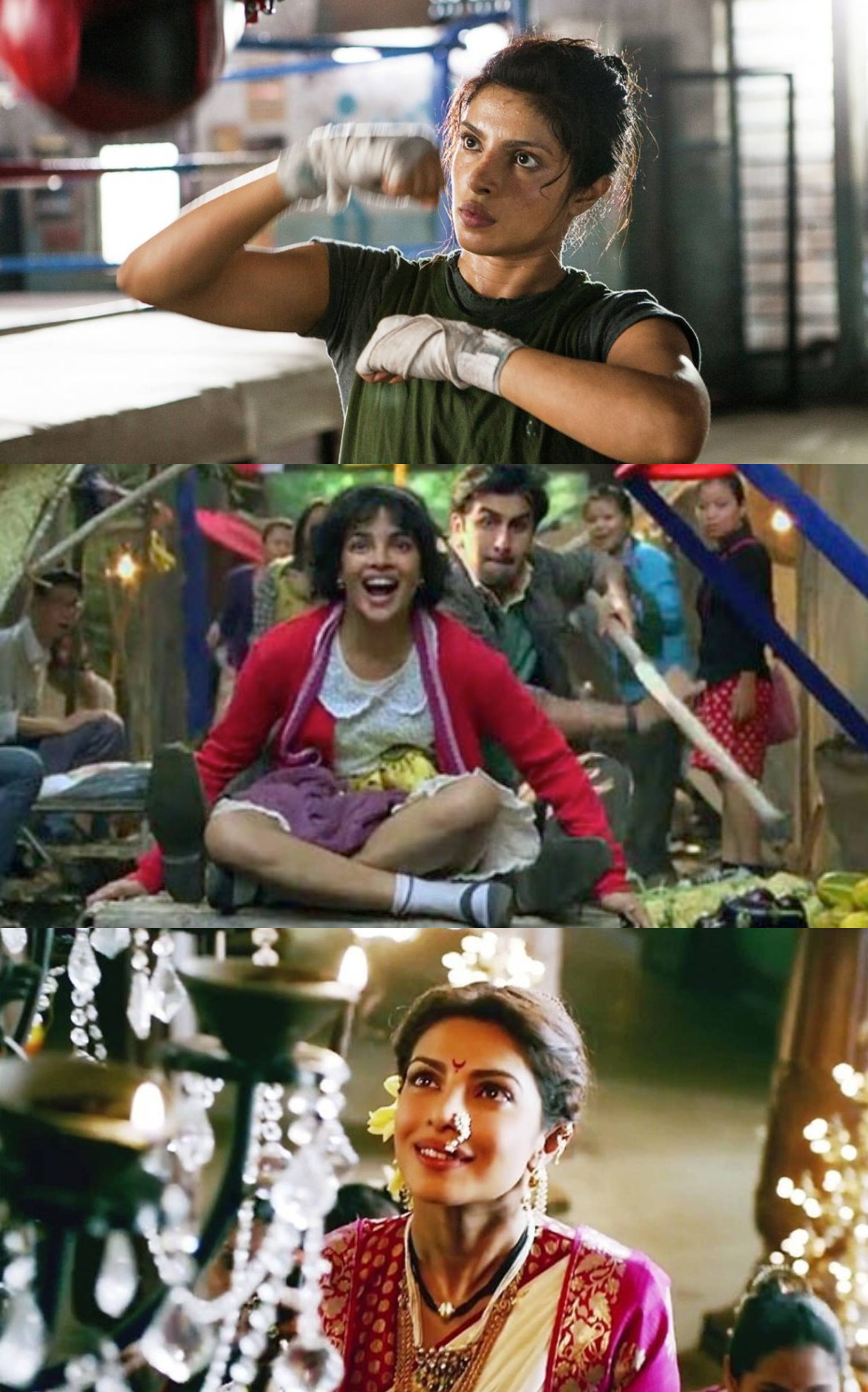 Priyanka Chopra's Different On-Screen Characters