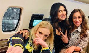 Priyanka Chopra, Sophie Turner and Danielle