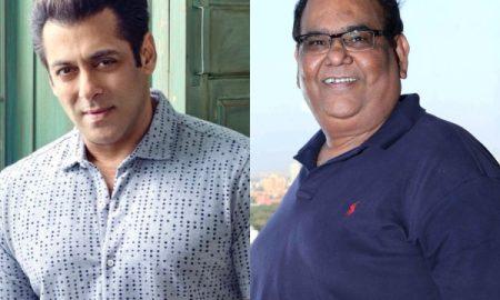 Salman Khan and Satish Kaushik