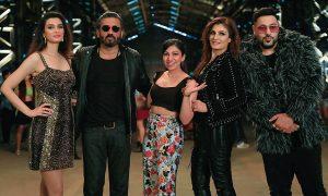 Tulsi Kumar with Diana Penty, Suniel Shetty, Raveena Tandon, Badshah