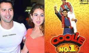 Varun Dhawan And Sara Ali Khan To Sizzle In A Recreated Hit Song In Coolie No. 1 Remake