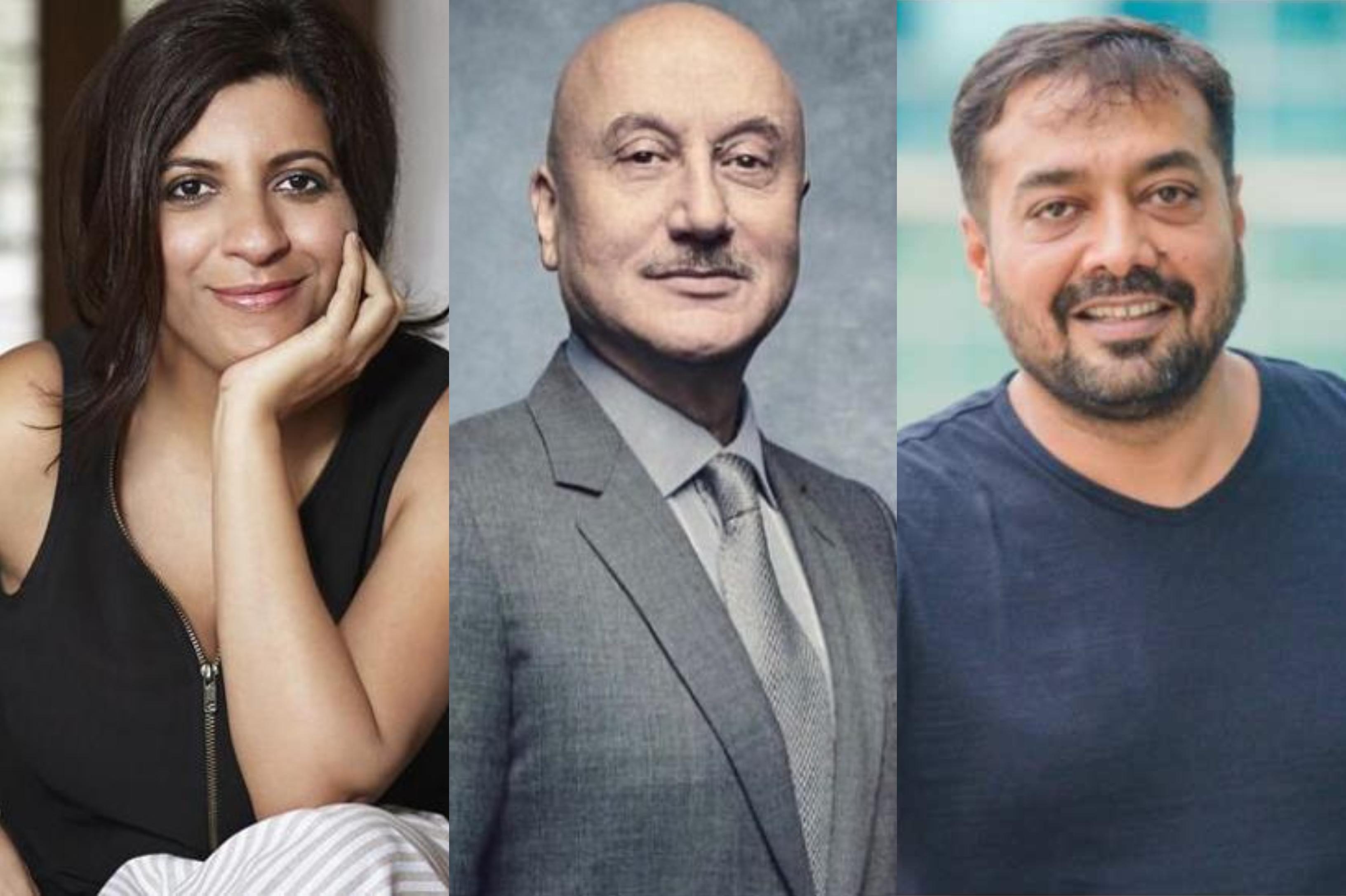 Zoya Akhtar, Anupam Kher, Anurag Kashyap invited to The Academy