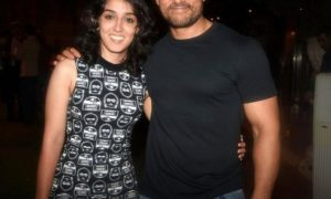 Aamir Khan and Ira Khan