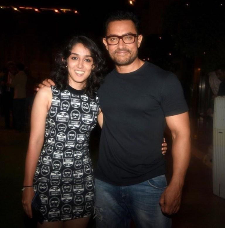 Aamir Khan and Ira Khan