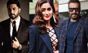 Abhishek Bachchan And Ileana D'Cruz To Be A Part Of Ajay Devgn's Film