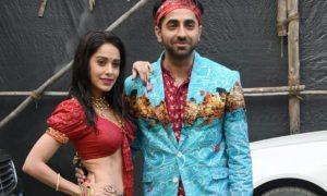 Ayushmann Khurrana And Nushrat Bharucha To Groove To Dhagala Lagli Kala