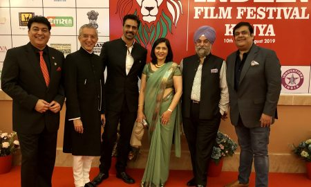 Raju Chadha, Arjun Rampal & Rahul Mittra Felicitated At The Indian Film Festival Kenya