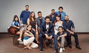 Jackky Bhagnani and the crew of JJust Music