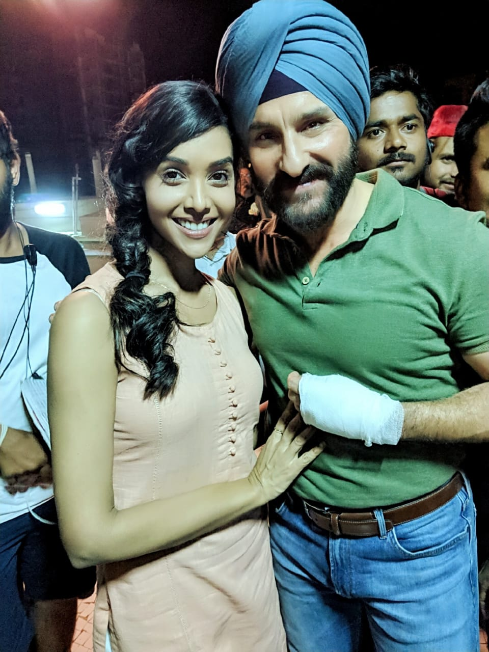 Saif Ali Khan and Anupriya Goenka