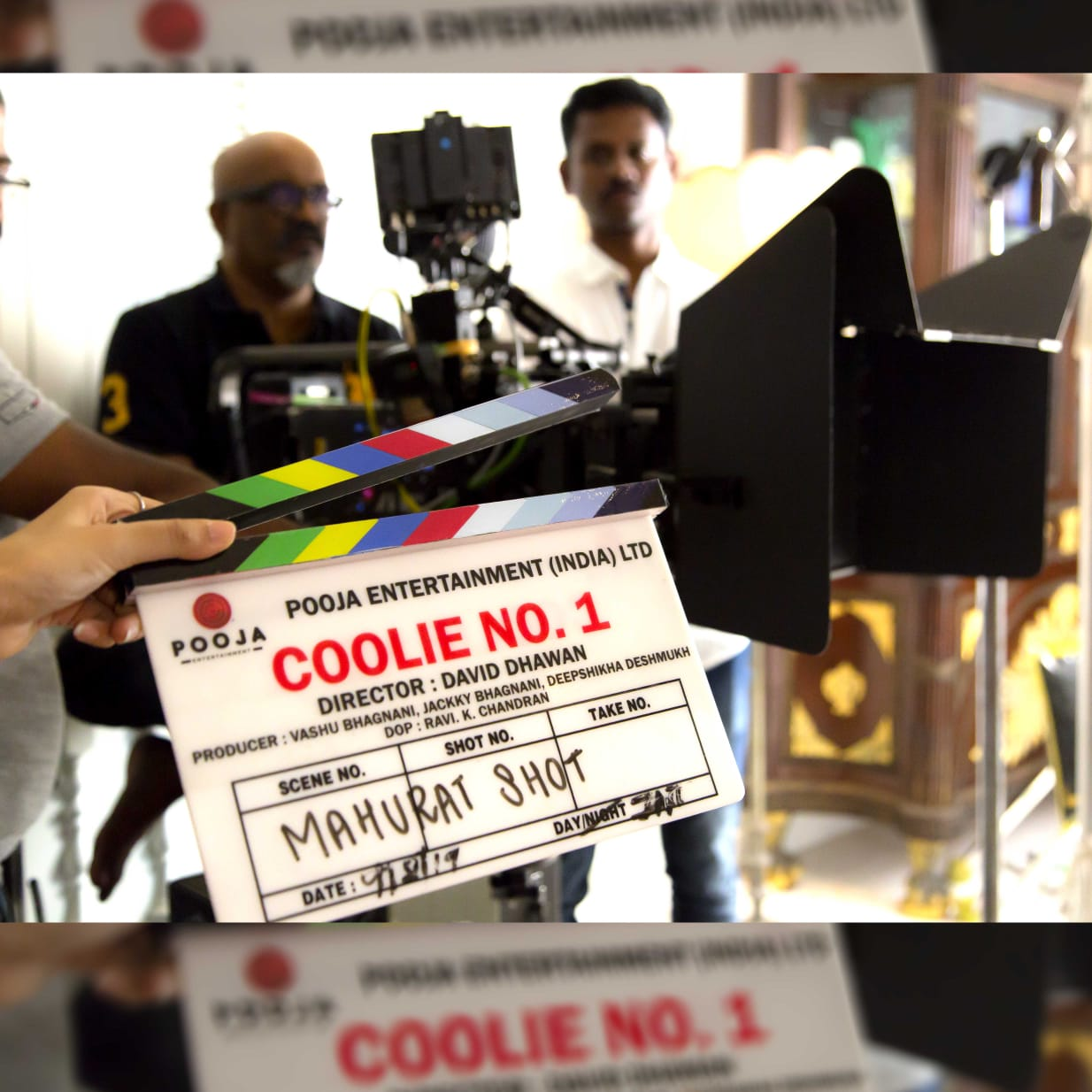 Varun Dhawan and Sara Ali Khan starrer Coolie No 1 remake goes on floors